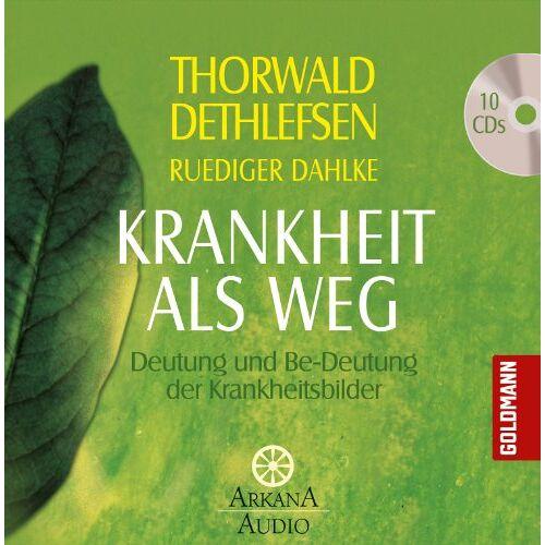 Thorwald Dethlefsen - Krankheit als Weg: Deutung und Be-Deutung der Krankheitsbilder - Preis vom 08.04.2021 04:50:19 h