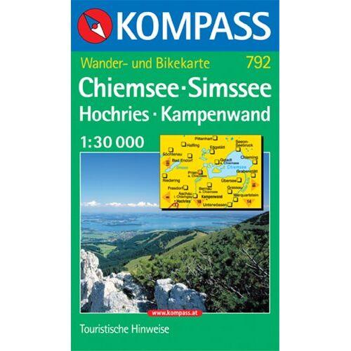 - Kompass Karten, Chiemsee, Simssee, Hochries, Kampenwald - Preis vom 05.09.2020 04:49:05 h