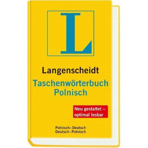 Langenscheidt, Redaktion von - Langenscheidt Taschenwörterbuch Polnisch: Polnisch-Deutsch/Deutsch-Polnisch (Langenscheidt Taschenwörterbücher) - Preis vom 22.04.2021 04:50:21 h