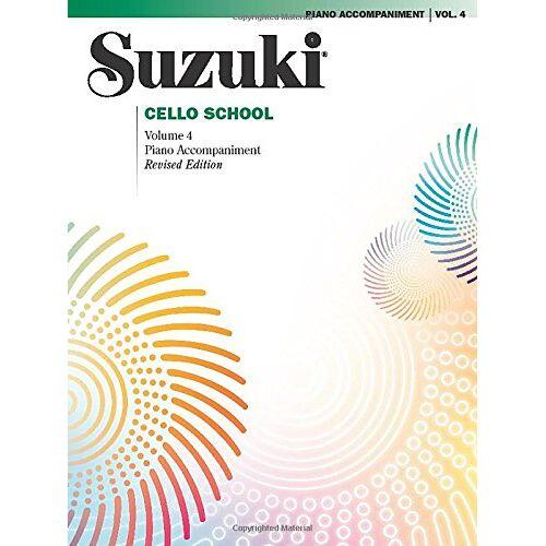 Suzuki Cello School Piano Accompaniment 4: Piano Accompaniment (Suzuki Method Core Materials) - Preis vom 26.02.2021 06:01:53 h