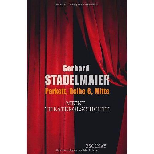 Gerhard Stadelmaier - Parkett, Reihe 6, Mitte - Preis vom 20.10.2020 04:55:35 h