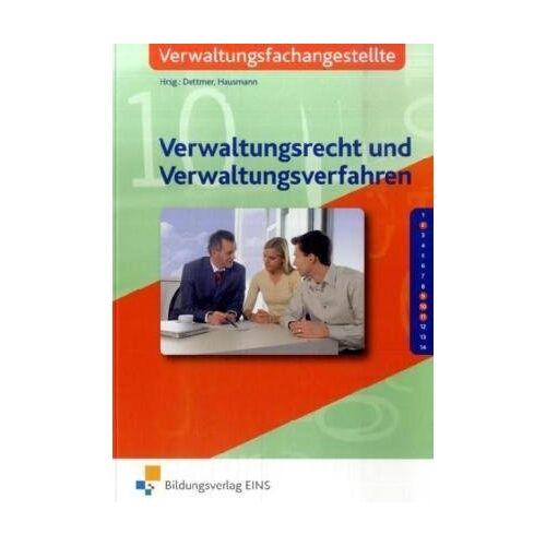Sabrina Dettmer - Verwaltungsrecht und Verwaltungsverfahren, Lehrbuch - Preis vom 11.05.2021 04:49:30 h
