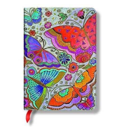 - Laurel Burch Schmetterlinge - Notizbuch Midi Liniert - Paperblanks - Preis vom 17.04.2021 04:51:59 h
