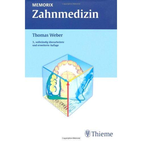 Weber Memorix Zahnmedizin - Preis vom 09.09.2020 04:54:33 h