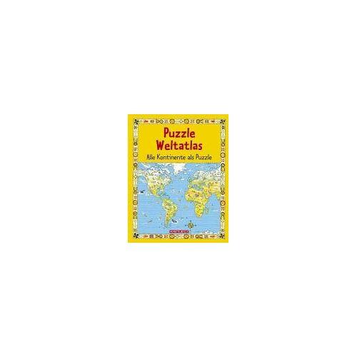 Colin King - Puzzle Weltatlas. Alle Kontinente als Puzzle - Preis vom 21.01.2021 06:07:38 h