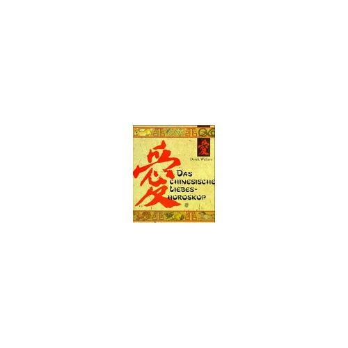 Derek Walters - Das chinesische Liebeshoroskop - Preis vom 13.05.2021 04:51:36 h