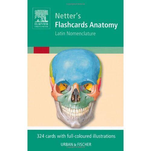 Netter - Flashcards Anatomy: Latin Nomenclature - Preis vom 03.05.2021 04:57:00 h