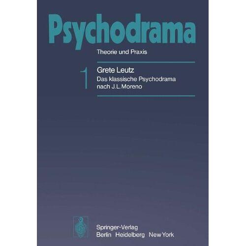 Moreno, J. L. - Psychodrama: Theorie und Praxis - Preis vom 29.10.2020 05:58:25 h