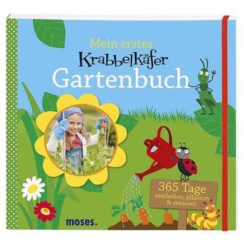 Anke Küpper - Krabbelkäfer Gartenbuch: 365 Tage entdecken, pflanzen & staunen - Preis vom 25.02.2021 06:08:03 h