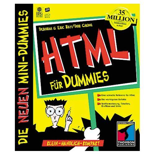 Eric Ray - Mini-Dummy, HTML für Dummies - Preis vom 22.11.2020 06:01:07 h