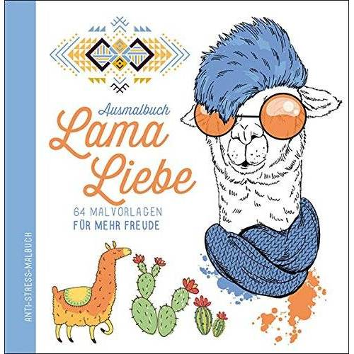 garant Verlag GmbH - Ausmalbuch Lama - Preis vom 24.11.2020 06:02:10 h