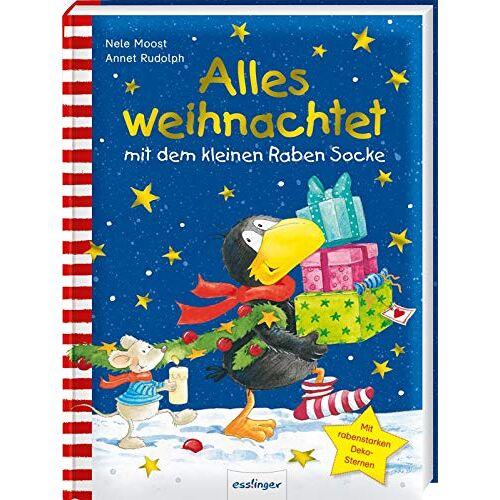 Nele Moost - Der kleine Rabe Socke: Alles weihnachtet mit dem kleinen Raben Socke - Preis vom 05.05.2021 04:54:13 h