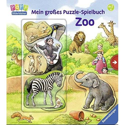 Anne Möller - Mein großes Puzzle-Spielbuch Zoo - Preis vom 02.03.2021 06:01:48 h