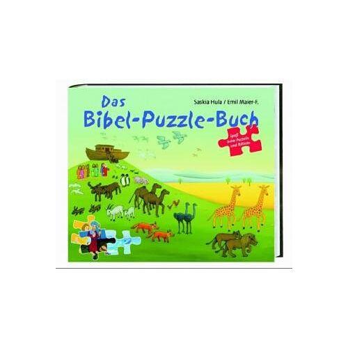 Saskia Hula - Das Bibel-Puzzle-Buch - Preis vom 03.05.2021 04:57:00 h