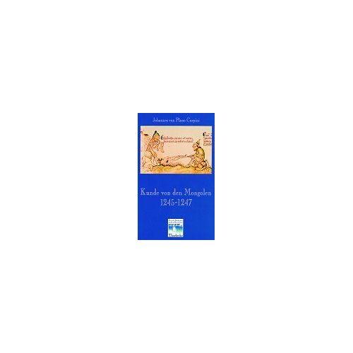 Plano Kunde von den Mongolen 1245-1247 - Preis vom 13.05.2021 04:51:36 h