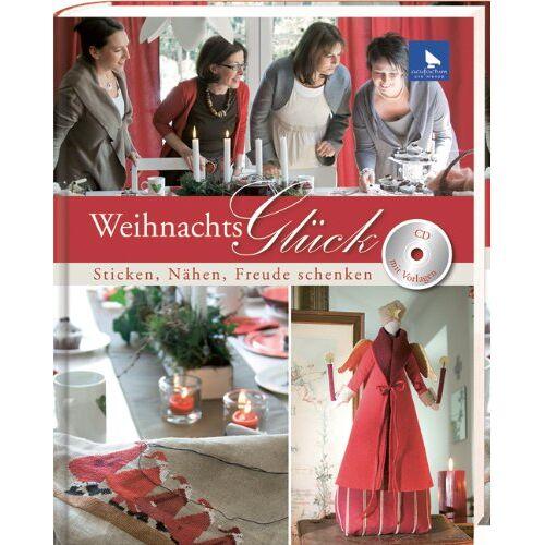 acufactum Ute Menze - Weihnachtsglück, m. CD-ROM: Sticken, Nähen, Freude schenken - Preis vom 05.09.2020 04:49:05 h
