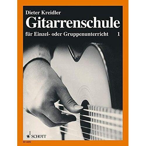 Dieter Kreidler - Gitarrenschule: für Einzel- oder Gruppenunterricht. Band 1. Gitarre. - Preis vom 25.02.2020 06:03:23 h