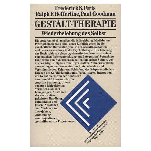 Perls, Frederick S. - Gestalt-Therapie - Preis vom 10.05.2021 04:48:42 h