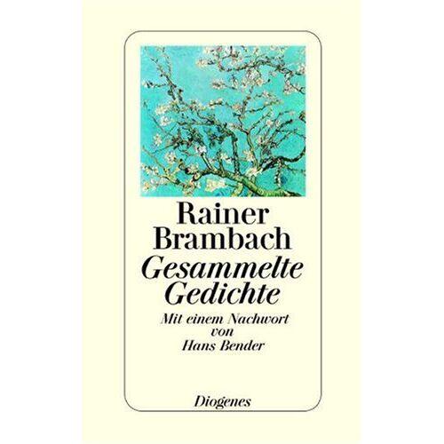 Rainer Brambach - Gesammelte Gedichte - Preis vom 25.01.2021 05:57:21 h