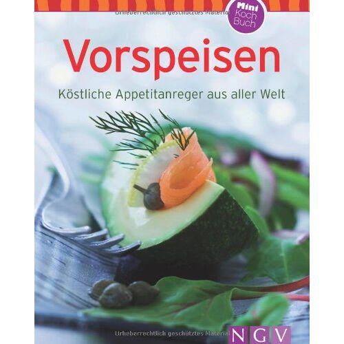- Vorspeisen (Minikochbuch): Köstliche Appetitanreger aus aller Welt - Preis vom 04.10.2020 04:46:22 h