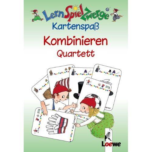 Katrin Merle - LernSpielZwerge, Kartenspaß : Kombinieren, Quartett (Kartenspiel) - Preis vom 06.05.2021 04:54:26 h