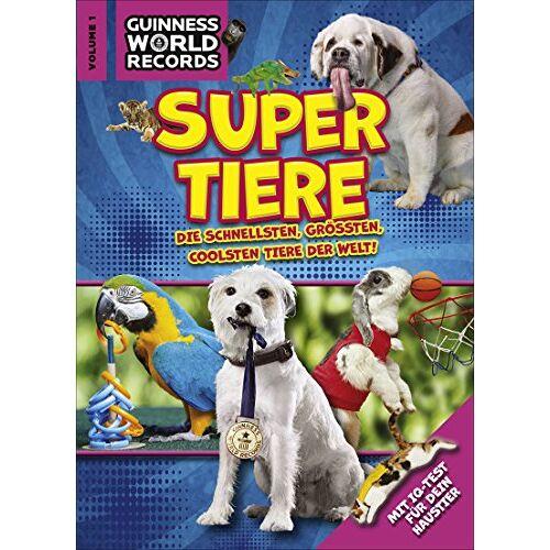 . Guinness World Records Ltd - Guinness World Records Super Tiere Vol. 1 - Preis vom 18.01.2020 06:00:44 h