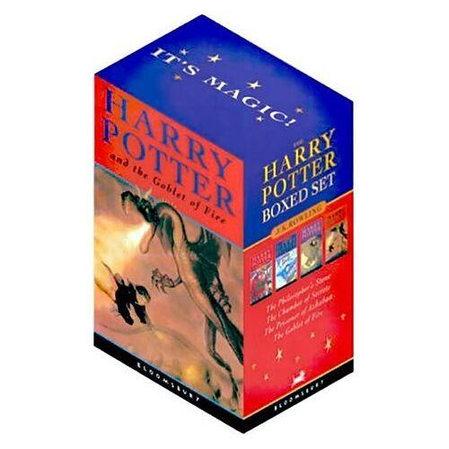 Rowling, Joanne K. - Harry Potter, Engl. ed., 4 Vols.: Bk. 1-4 - Preis vom 18.04.2021 04:52:10 h
