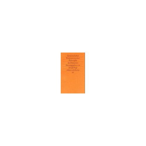Josef Vogl - Gemeinschaften - Preis vom 08.05.2021 04:52:27 h