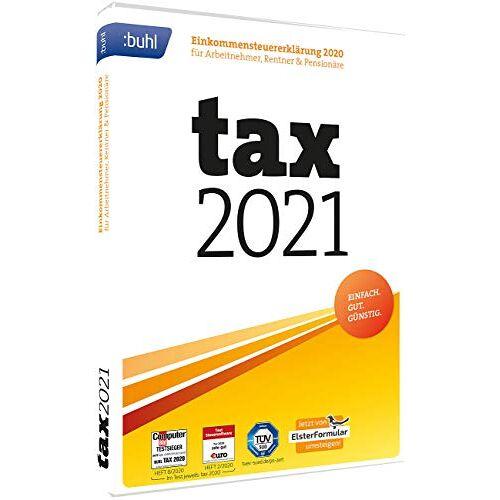 - tax 2021 (DVD-Box): Einkommensteuererklärung 2020 für Arbeitnehmer, Rentner & Pensionäre. Der sichere Weg zur Steuererklärung. Einkommensteuer komplett für alle Einkunftsarten - Preis vom 06.05.2021 04:54:26 h