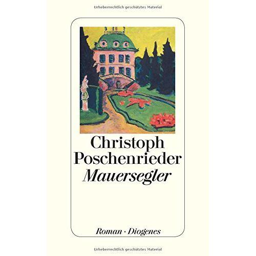 Christoph Poschenrieder - Mauersegler - Preis vom 28.02.2021 06:03:40 h