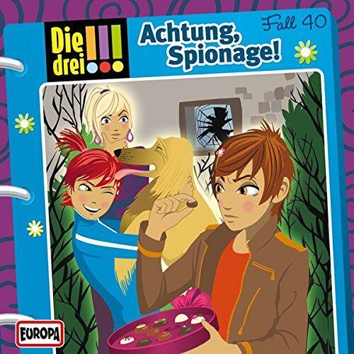 Die drei ??? - 040/Achtung,Spionage! - Preis vom 18.04.2021 04:52:10 h