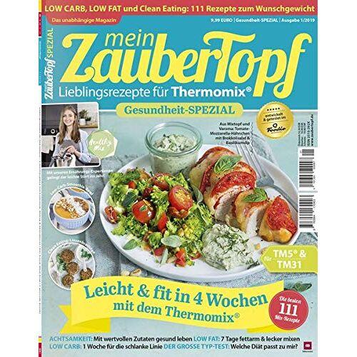 Vivien Koitka - mein ZauberTopf: Gesundheit-Spezial Low Carb - Low Fat - Clean Eating für Thermomix® TM5® & TM31 - Preis vom 13.05.2021 04:51:36 h