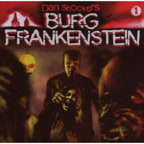 Dan Shocker - Burg Frankenstein, Band 1: Schreckensnacht auf Burg Frankenstein - Preis vom 18.04.2021 04:52:10 h