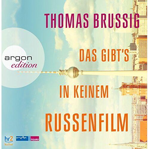 Thomas Brussig - Das gibts in keinem Russenfilm - Preis vom 14.05.2021 04:51:20 h