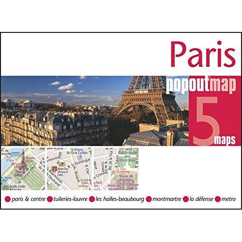 Popout Maps - Paris PopOut Map (Popout Maps) - Preis vom 25.01.2021 05:57:21 h