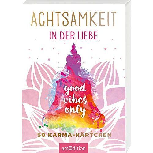 - Achtsamkeit in der Liebe: 50 Karma-Kärtchen (Achtsamkeitskärtchen) - Preis vom 22.01.2020 06:01:29 h