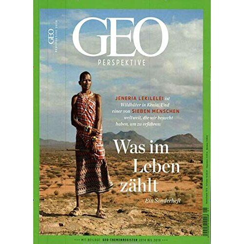 GEO Perspektive - GEO Perspektive 1/2018 Was im Leben zählt - Preis vom 20.10.2020 04:55:35 h
