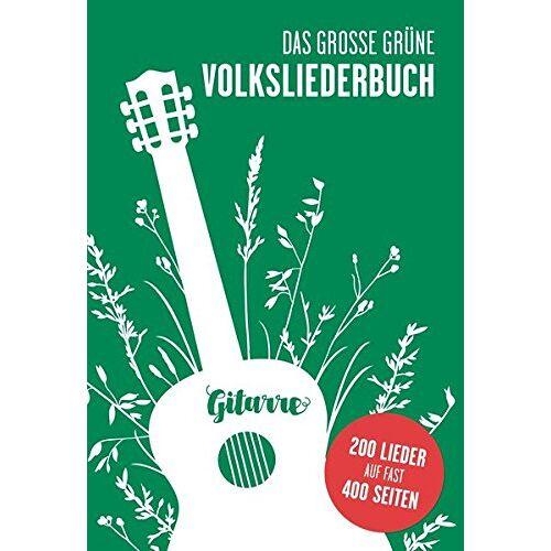 Bosworth Music - Das große grüne Volksliederbuch Gitarre - Preis vom 11.05.2021 04:49:30 h