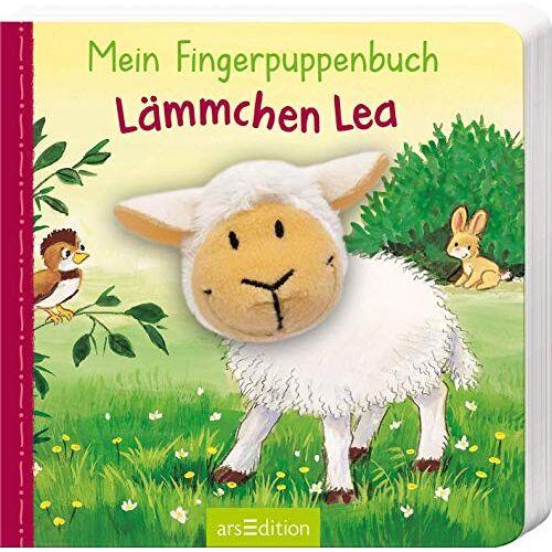 Andrea Gerlich - Mein Fingerpuppenbuch - Lämmchen Lea (Fingerpuppenbücher) - Preis vom 06.03.2021 05:55:44 h