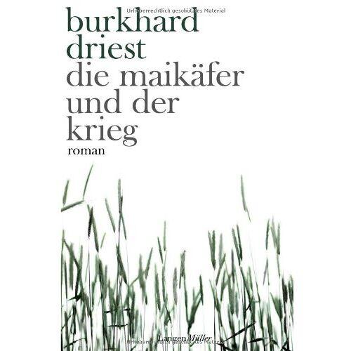 Burkhard Driest - Die Maikäfer und der Krieg - Preis vom 20.10.2020 04:55:35 h