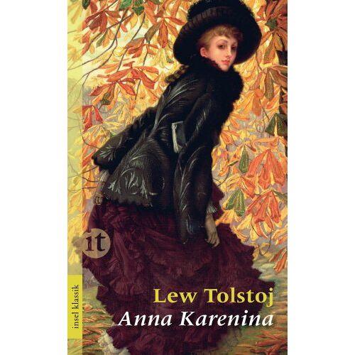 Lew Tolstoj - Anna Karenina: Roman (insel taschenbuch) - Preis vom 15.11.2019 05:57:18 h