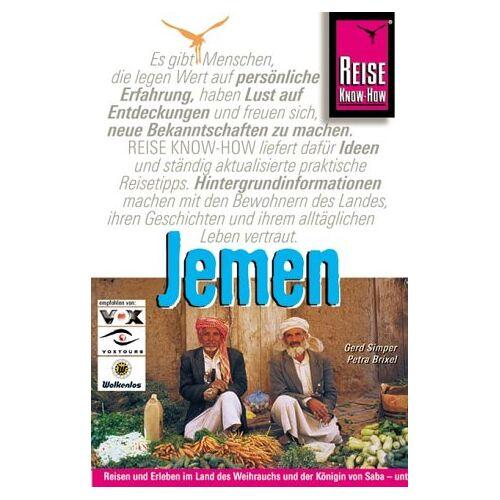 Petra Brixel - Jemen. Reisehandbuch - Preis vom 01.03.2021 06:00:22 h
