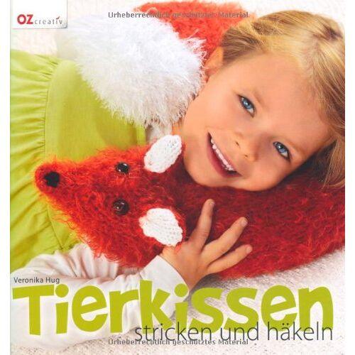 Veronika Hug - Tierkissen stricken und häkeln - Preis vom 13.05.2021 04:51:36 h