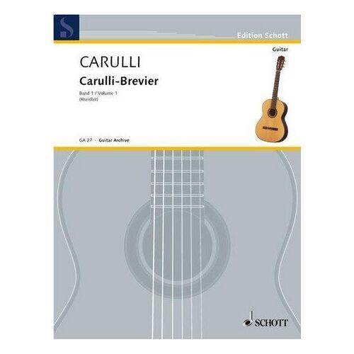 - Carulli-Brevier: Ausgewählte Werke für Gitarre. Vol. 1. Gitarre. (Kreidler Gitarren-Studio) - Preis vom 18.04.2021 04:52:10 h