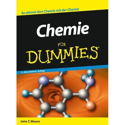 Moore, John T. - Chemie für Dummies: So stimmt Ihre Chemie mit der Chemie (Fur Dummies) - Preis vom 14.05.2021 04:51:20 h