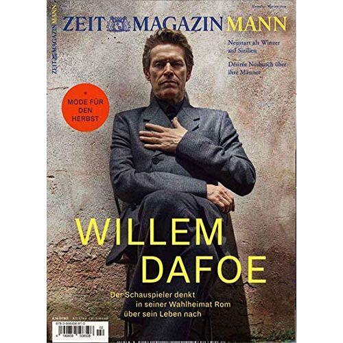 ZEIT Magazin Mann - ZEITmagazin Mann 2/2019 Willem Dafoe - Preis vom 06.05.2021 04:54:26 h