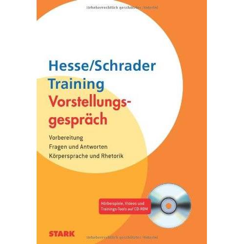 Jürgen Hesse - Vorstellungsgespräch / Training - Vorstellungsgespräch:Vorbereitung - Fragen und Antworten - Körpersprache und Rhetorik - Preis vom 03.05.2021 04:57:00 h