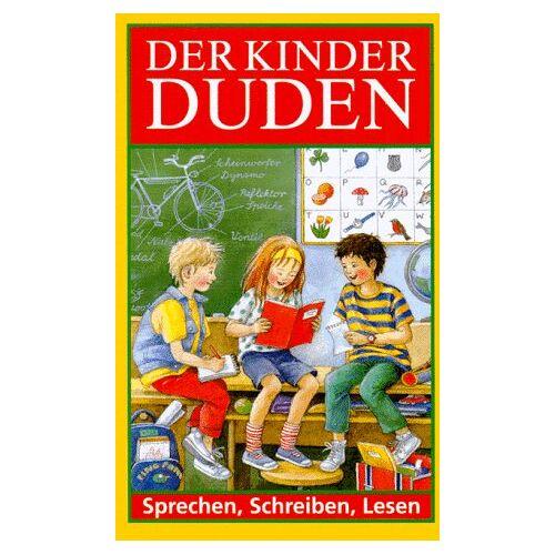 - Duden. Der Kinderduden. Sprechen, Schreiben, Lesen - Preis vom 20.10.2020 04:55:35 h