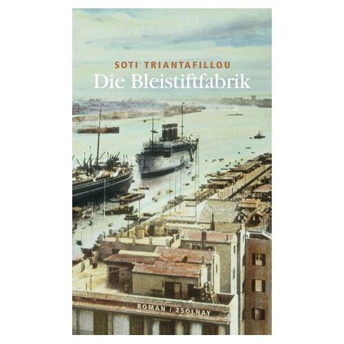 Soti Triantafillou - Die Bleistiftfabrik: Roman - Preis vom 07.03.2021 06:00:26 h