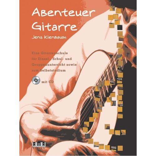Jens Kienbaum - Abenteuer Gitarre: Eine Gitarrenschule für Einzel-, Schul- und Gruppenunterricht sowie zum Selbststudium - Preis vom 20.10.2020 04:55:35 h